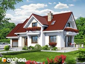 projekt Dom w lobeliach 2