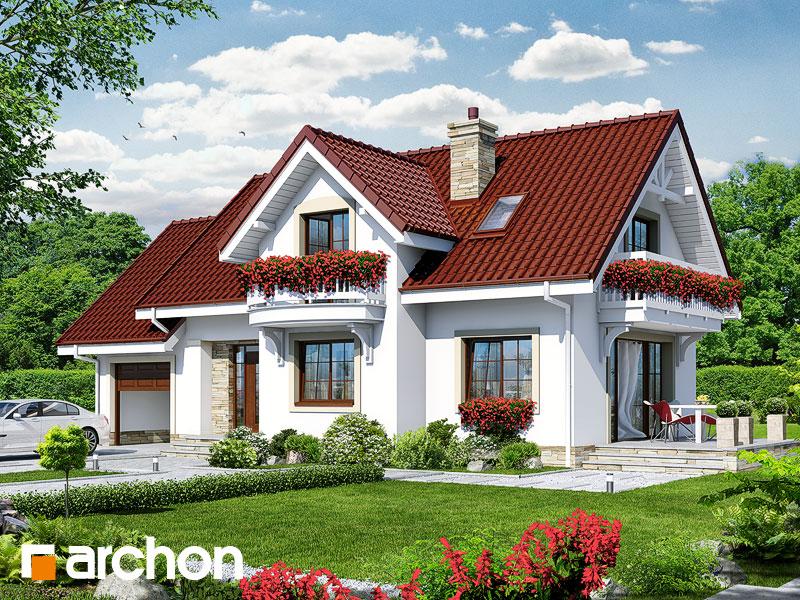 gotowy projekt Dom w lobeliach 2 widok 1