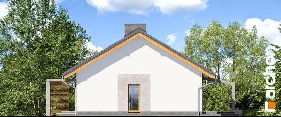Elewacja boczna projekt dom w mekintoszach wp  265