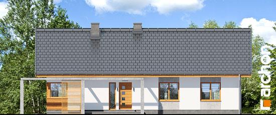 Elewacja frontowa projekt dom w mekintoszach wp  264