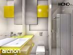 projekt Dom w mekintoszach (WP) Wizualizacja łazienki (wizualizacja 1 widok 2)