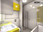projekt Dom w mekintoszach (WP) Wizualizacja łazienki (wizualizacja 1 widok 3)