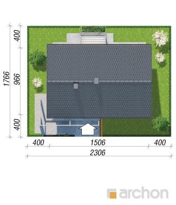 projekt Dom w mekintoszach (WP) sytuacja