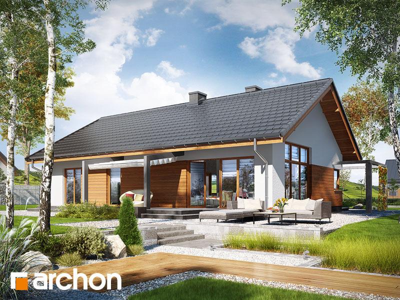projekt Dom w mekintoszach (WP) widok 1