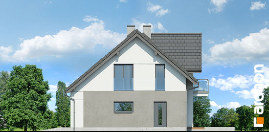 Elewacja boczna projekt dom w zurawkach 9  265