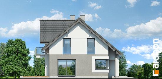 Elewacja boczna projekt dom w zurawkach 9  266