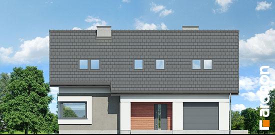 Elewacja frontowa projekt dom w zurawkach 9  264