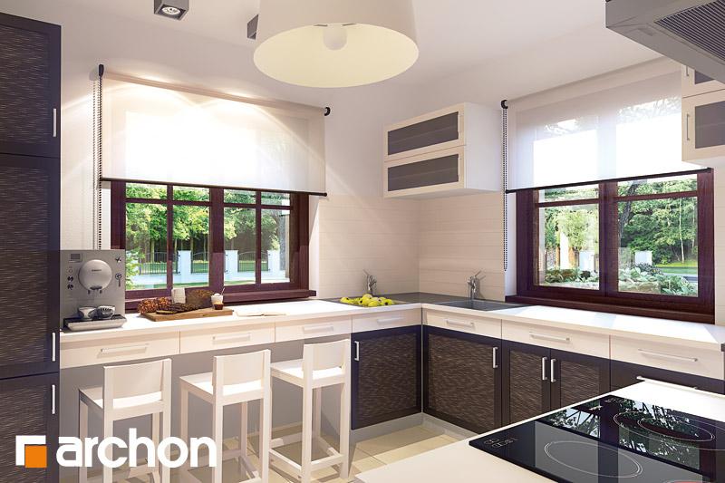 Aranżacje kuchni do projektów domów - ARCHON+ - strona 2