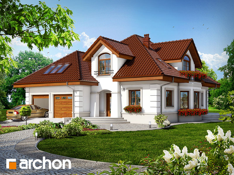 gotowy projekt Dom w bergamotkach (G2T) widok 1