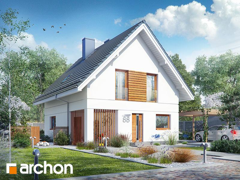 gotowy projekt Dom pod limbami widok 1