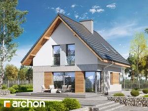 projekt Dom na wzgórzu (N) widok 2