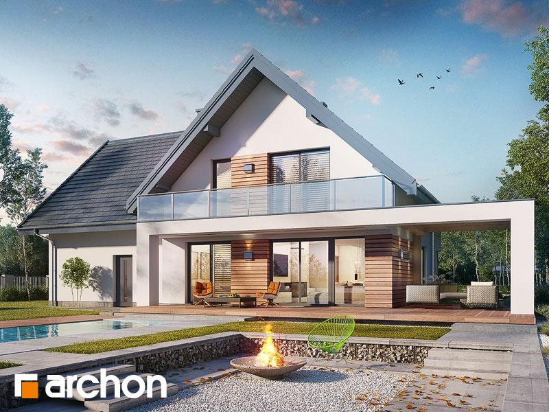 gotowy projekt Dom w amorfach 3 (G2) widok 1