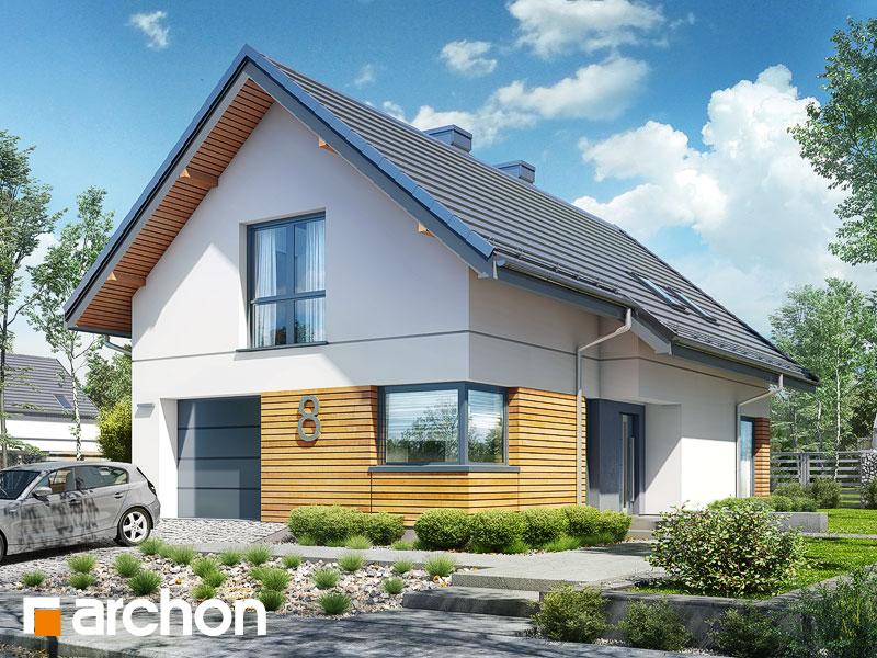 gotowy projekt Dom w ligolach (M) widok 1