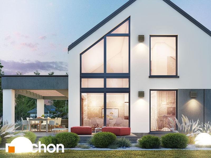 gotowy projekt Dom w kellerisach (G2) widok 1