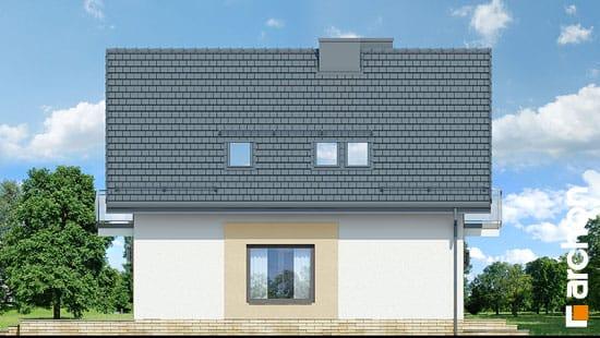 Elewacja boczna projekt dom w rododendronach 21 n  266