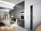 projekt Dom w rododendronach 21 (N) Wizualizacja kuchni 1 widok 1