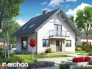 gotowy projekt Dom w rododendronach 21 (N)