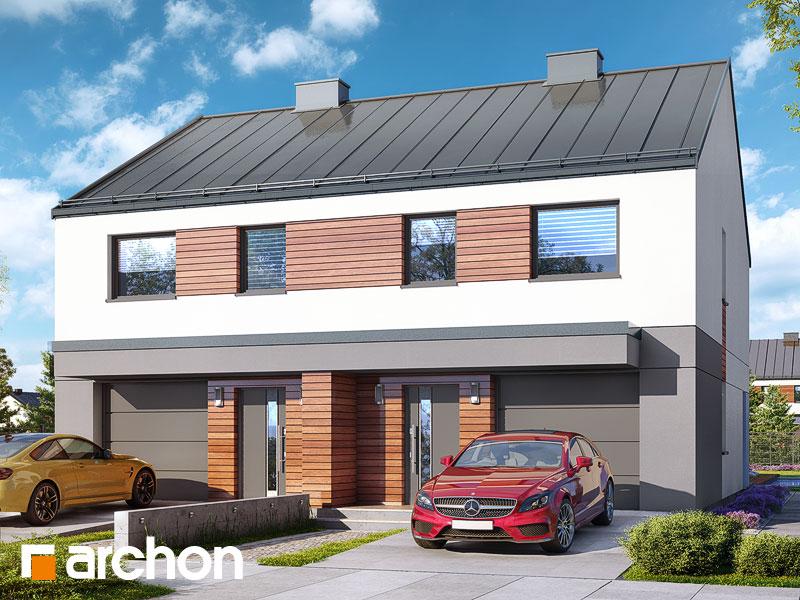 gotowy projekt Dom w riveach (GR2) widok 1