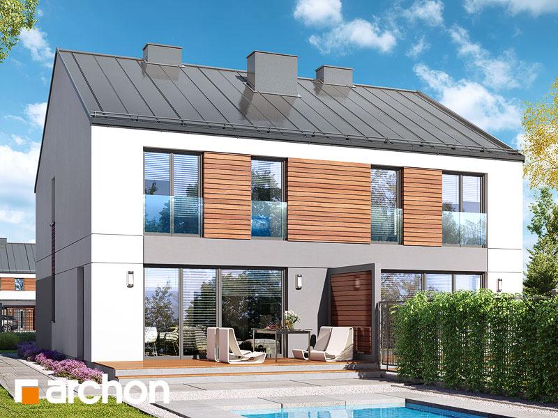 gotowy projekt Dom w riveach (GR2) widok 2
