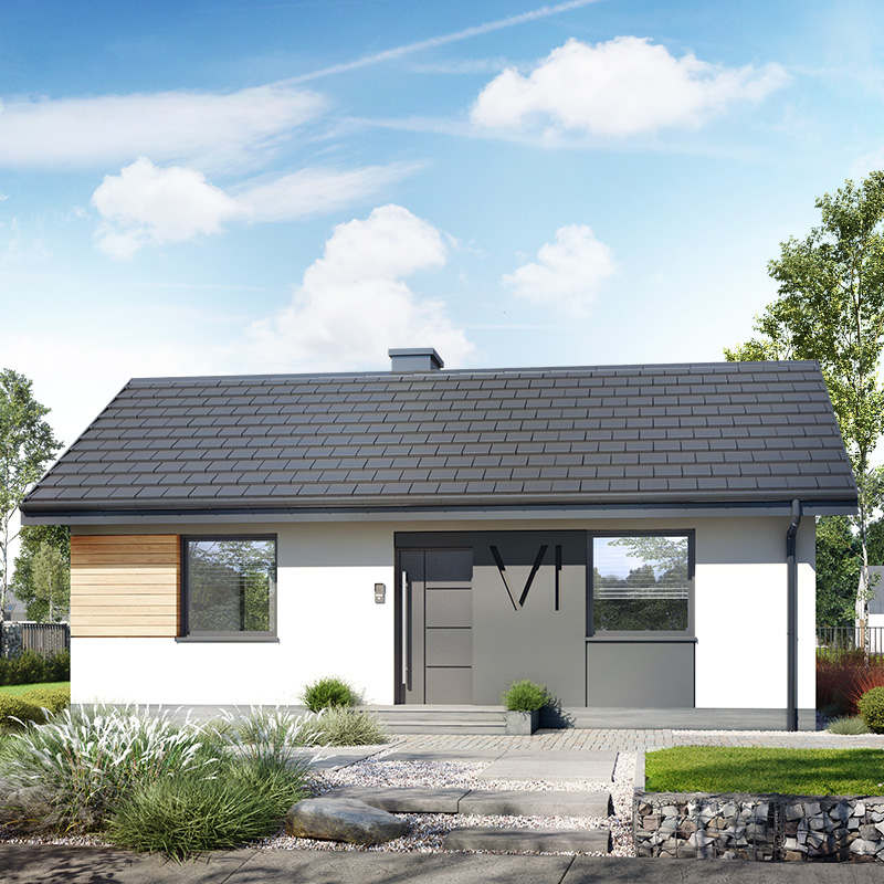 gotowy projekt Dom w kruszczykach 8 widok 2