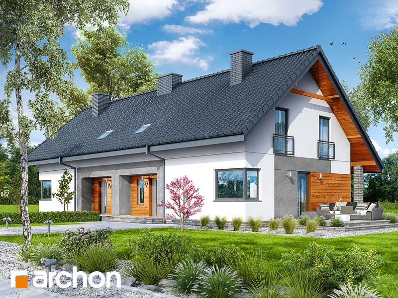 gotowy projekt Dom w malinówkach 2 (R2) widok 1