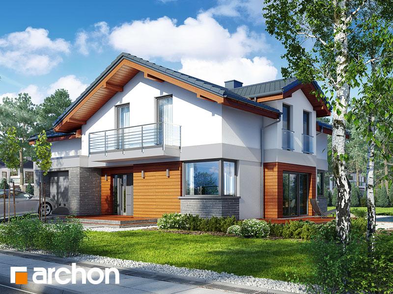 gotowy projekt Dom w budlejach 3 widok 1