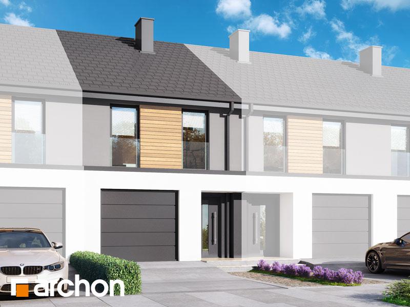 gotowy projekt Dom w ribesach (GS) widok 1