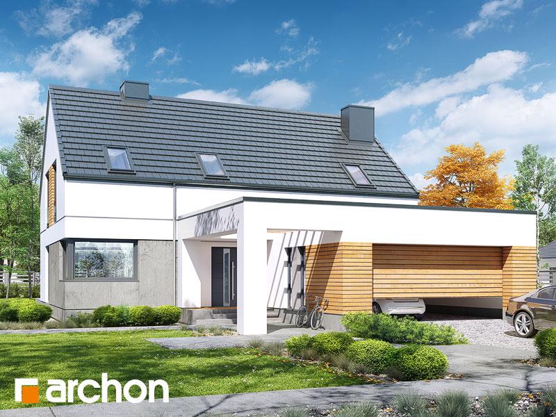 gotowy projekt Dom w santini 2 (G2) widok 1