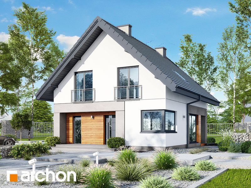 b4d786cd422426 Projekt domu Dom w topazach - ARCHON+