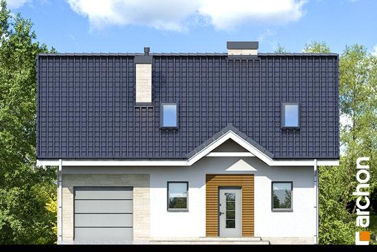 Elewacja frontowa projekt dom w borowkach 2 ver 2  264