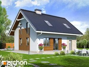 projekt Dom w borówkach 2 widok 2
