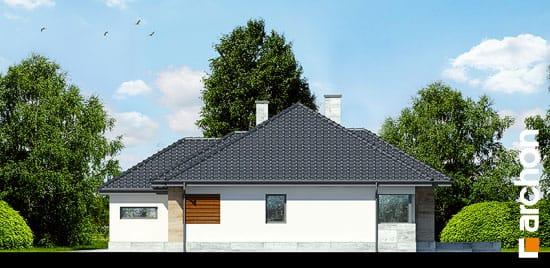 Elewacja boczna projekt dom w akebiach 2 ver 2  265