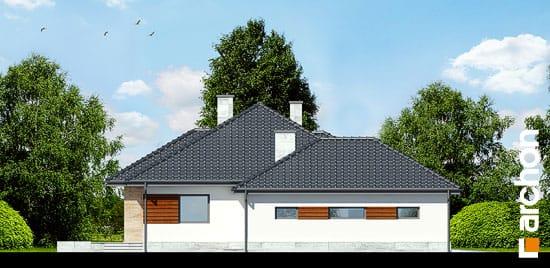 Elewacja boczna projekt dom w akebiach 2 ver 2  266