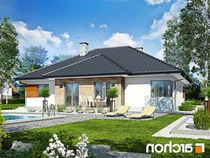 projekt Dom w akebiach 2 lustrzane odbicie 2