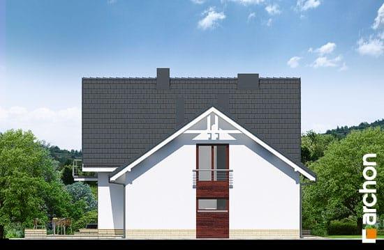 Elewacja boczna projekt dom w tamaryszkach 2 n ver 2  265