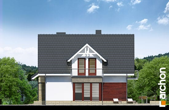 Elewacja boczna projekt dom w tamaryszkach 2 n ver 2  266