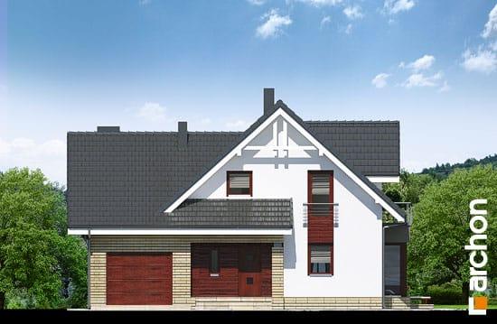 Elewacja frontowa projekt dom w tamaryszkach 2 n ver 2  264