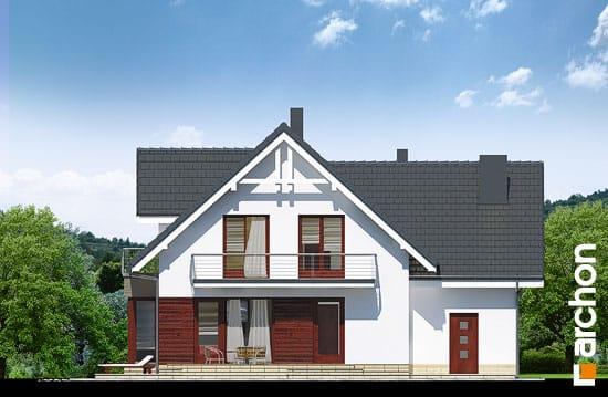 Elewacja ogrodowa projekt dom w tamaryszkach 2 n ver 2  267