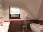 projekt Dom w tamaryszkach 2 (N) Wizualizacja łazienki (wizualizacja 3 widok 1)