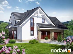 projekt Dom w tamaryszkach 2 (N) lustrzane odbicie 1