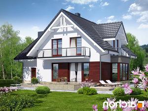 projekt Dom w tamaryszkach 2 (N) lustrzane odbicie 2