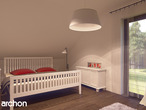 projekt Dom w tamaryszkach 2 (N) Strefa nocna (wizualizacja 1 widok 1)