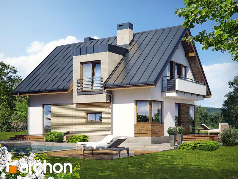 gotowy projekt Dom w amarylisach (W) widok 1