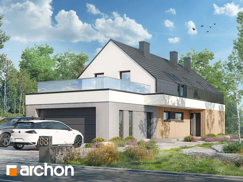 gotowy projekt Dom w estragonie 3 (G2) widok 2