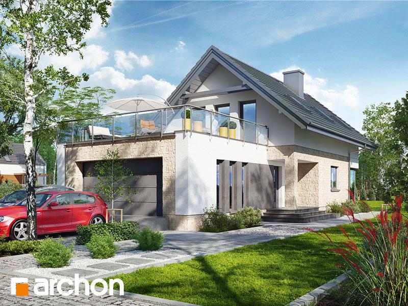 gotowy projekt Dom w cytryńcach (G2) widok 1