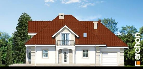 Elewacja frontowa projekt dom w nektarynkach 2 ver 2  264