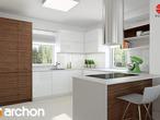 projekt Dom w nektarynkach 2 Aranżacja kuchni 1 widok 2