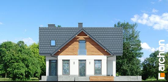 Elewacja boczna projekt dom w pomelo p  265