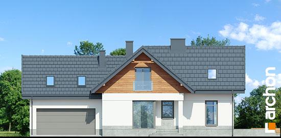Elewacja frontowa projekt dom w pomelo p  264