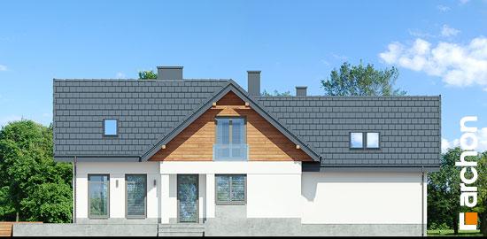 Elewacja ogrodowa projekt dom w pomelo p  267